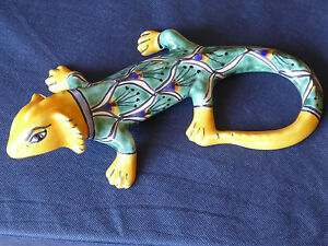 Gecko-Eidechse-Salamander-Echse-Leguan-bunt-Gartendeko-Dekofirguren-Skulptur