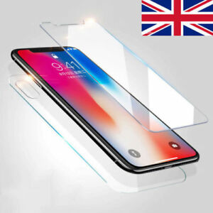 Front-Back-Tempered-Glass-360-Screen-Protector-For-Apple-iPhone-5-6-7-8-X-Case