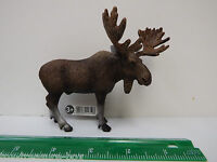 Schleich Wild Life / Forest Life Series - Moose Bull - Hand Painted Figure