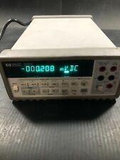 Hp Hewlett Packard 34401a High Performance Digital Multimeter