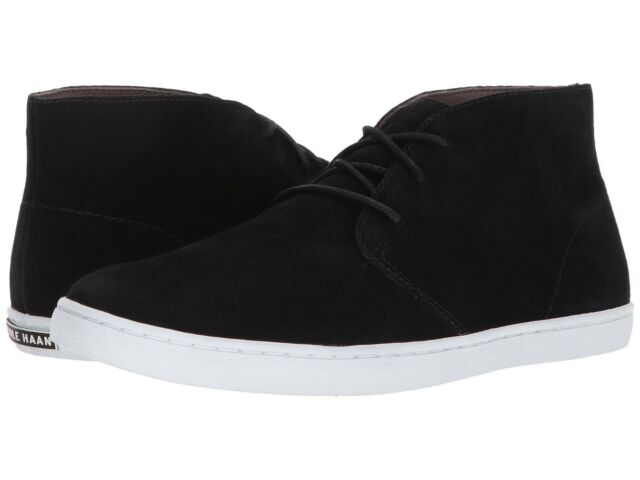 Cole Haan Mens Pinch Weekender Lace Up Casual Chukka Fashion Ankle Boots Shoes