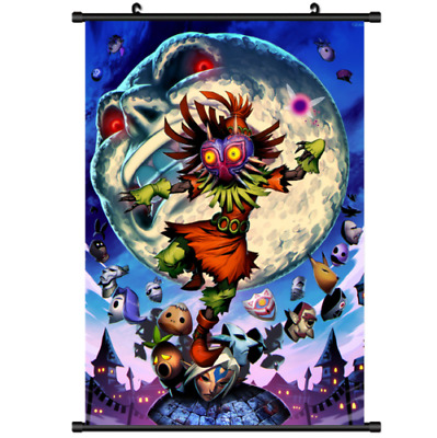 Majoras Mask Skull Kid Art Silk Poster 12x18 24x36