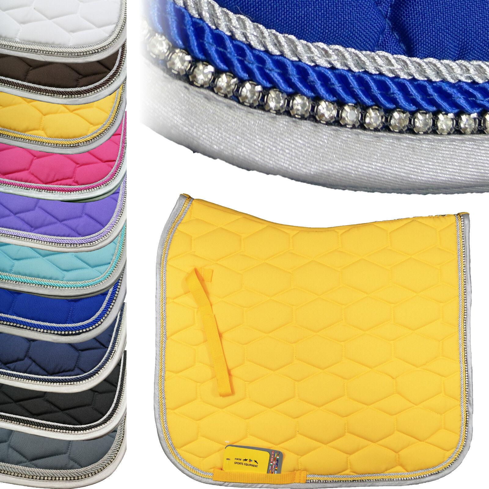 HKM Saddlecloth Crystal Fashion with Rhinestone (9125)