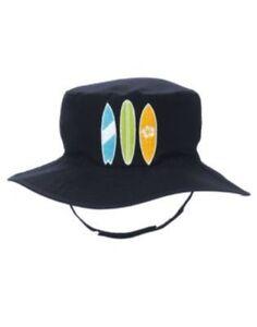 GYMBOREE-SWIM-SHOP-NAVY-w-SURFBOARDS-HAT-3-4-5-7-8-9-NWT