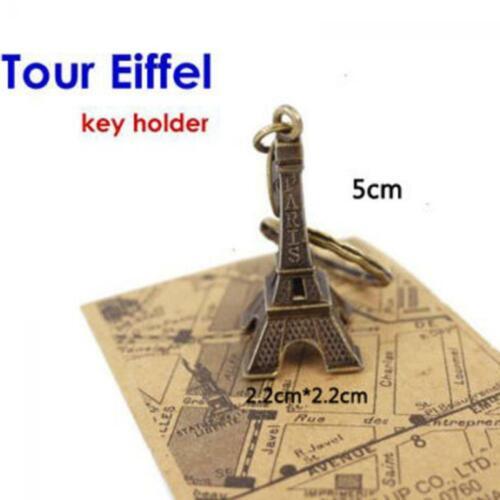 Retro Metal Decor Alloy Bronze Vintage Paris Eiffel Tower Model Statue