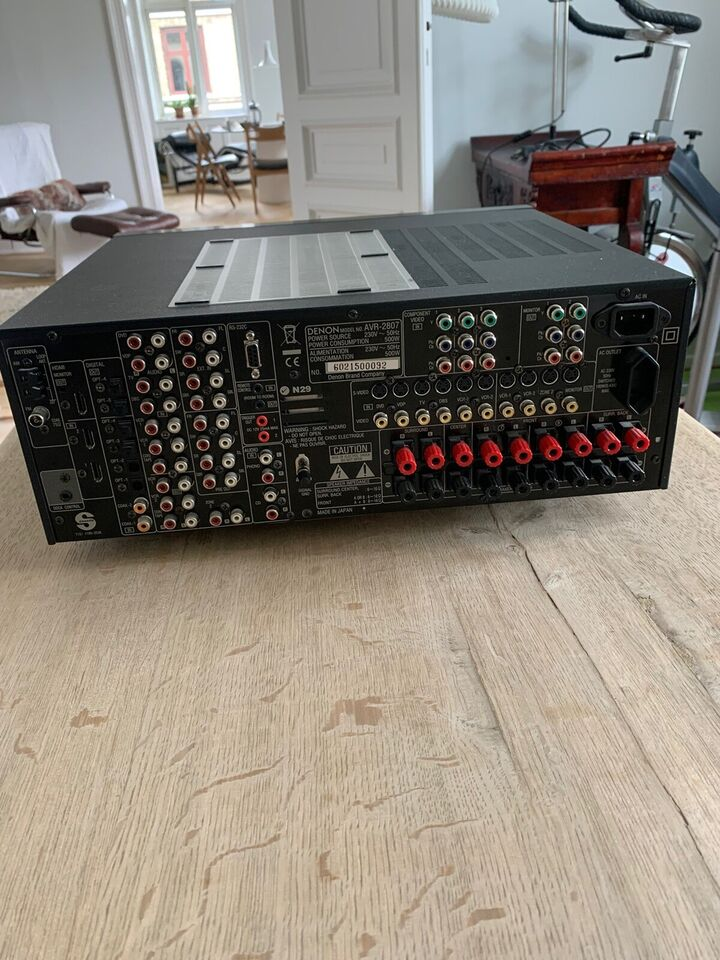 Denon, AVR-2807, 7.1 kanaler