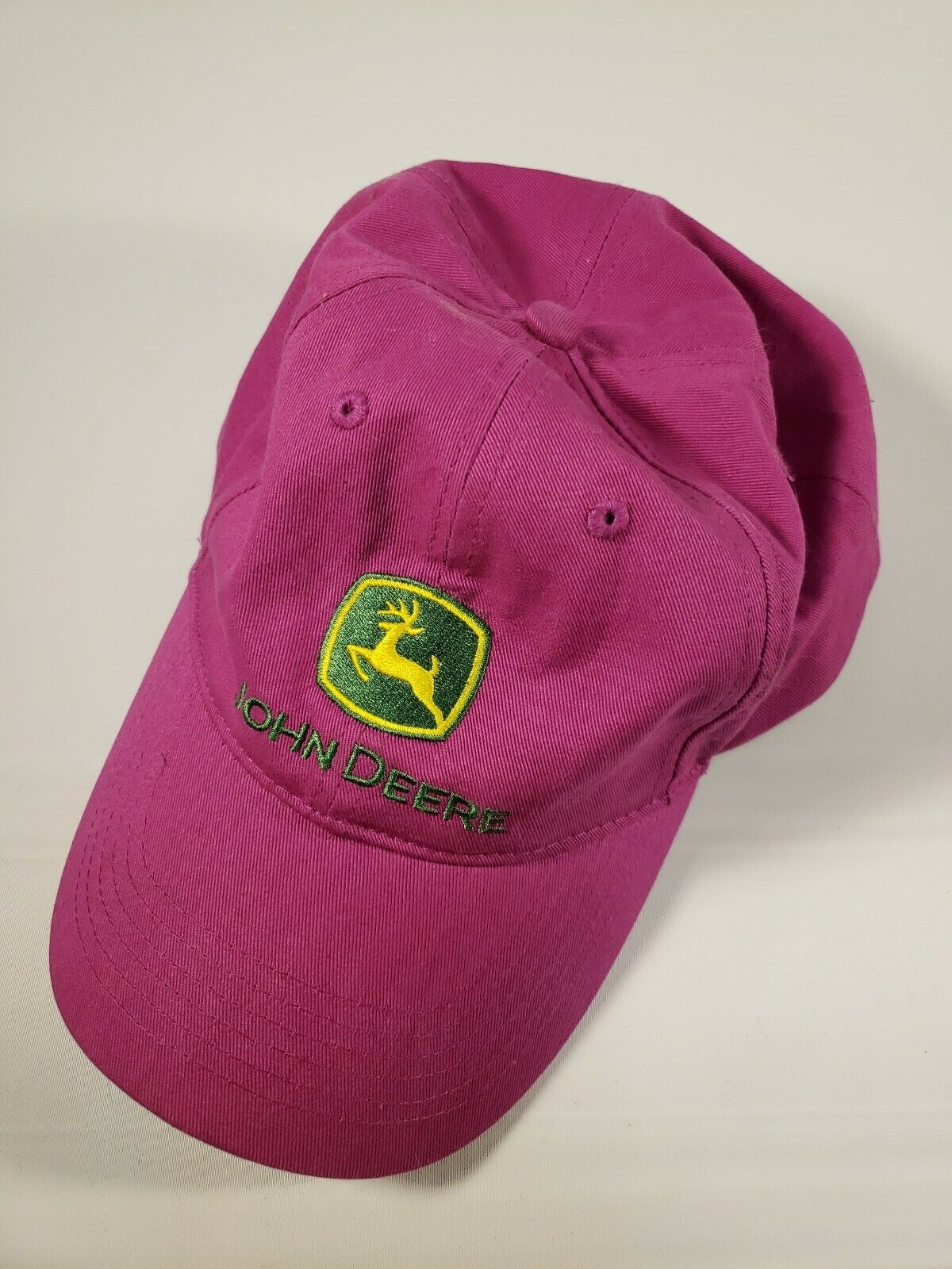 accessories john deere i love jd logo hat fuchsia chocoplate jp チョコプレート