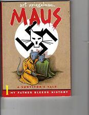Maus A Survivor's Tale I My Father Bleeds History Pantheon Graphic Novel J139