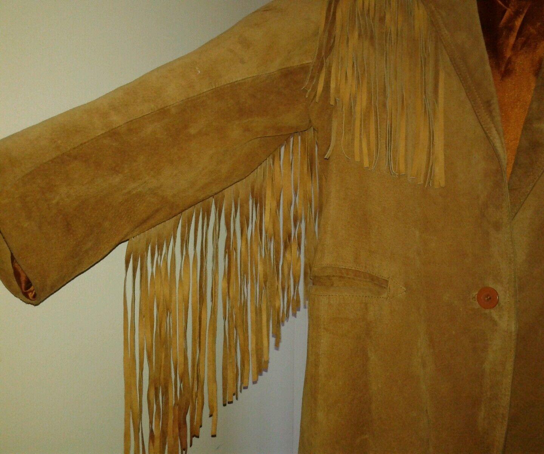 la nauicelle Renaissance Leather fringed Jacket - image 7