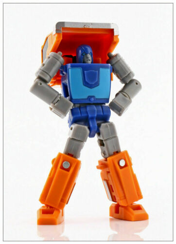 New MS-TOYS MS-B16 Robot Action Figure strong man mini Huffer Transformation
