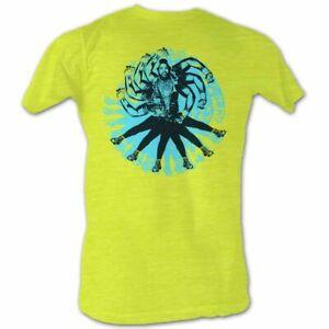 Mr-T-Mr-T-Dust-Yellow-Heather-T-Shirt