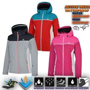 Womens-Waterproof-Ski-Winter-Jacket-Warm-Quilted-Padded-Raincoat-Hoodie-Sightly