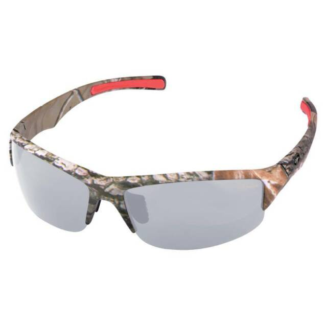Sonstige Bekleidung GAMAKATSU G-Glasses Wings Light Gray Mirror Polbrille by TACKLE-DEALS !!!