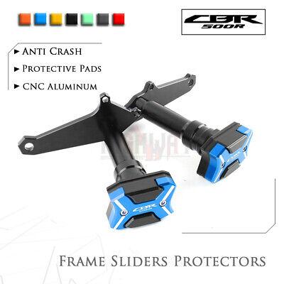 X Frame Crashpads Guard Slider Crash Pads Protector For Honda CBR500R 2014-2016