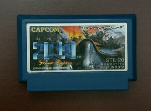 Famicom-FC-2010-street-fighter-Japan-import-Nintendo-NES-game