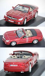 Maisto-Mercedes-Benz-SL500-2009-rouge-1-18-31169-14