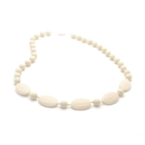 Silicone Teething Nursing Breastfeeding Necklace chew chewable jewelry beads