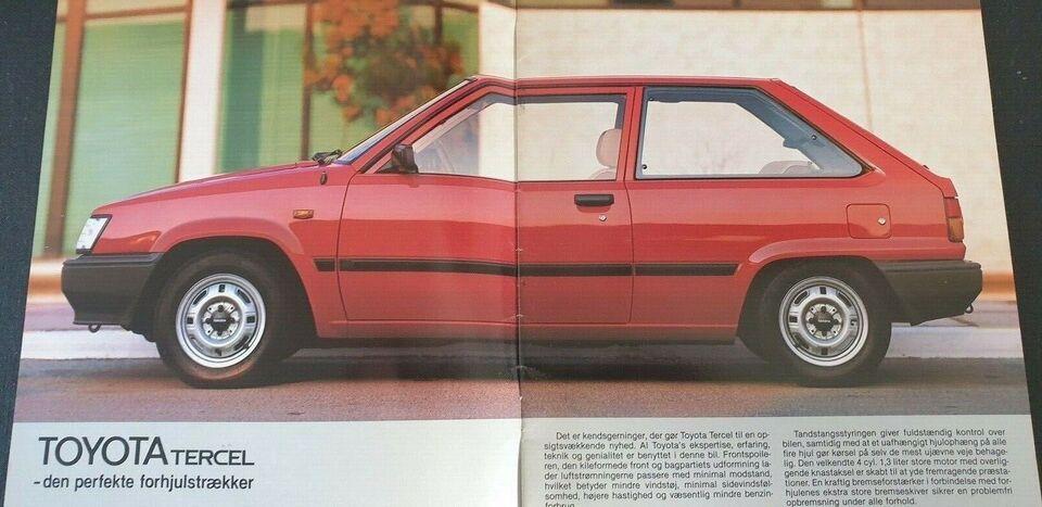 Brochure, Toyota Tercel