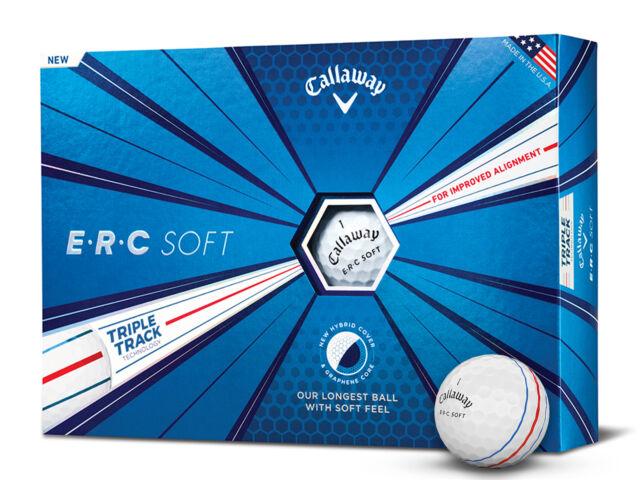 Callaway ERC Soft Golf Balls - 1 Dozen White -  Mens