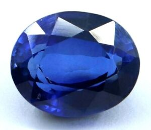 10.70 Ct Natural Royal Blue Sapphire Oval STUNNING Ceylon Certified Loose Gems