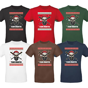 Heiligabend Xmas Shirt Advent Weihnachten T-Shirt Herren Bad Santa