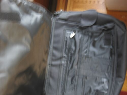 NWT FLAUNT NYC DOUBLE FLAP REVESIBLE MESSENGER SCHOOL LAPTOP  BAG AUTHENTIC