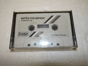 Game-Software-034-Battle-for-Midway-034-Cassette-Amstrad-Schneider-CPC-464-PC142