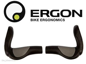 New ERGON GP3-L Grips Large Black+Gray