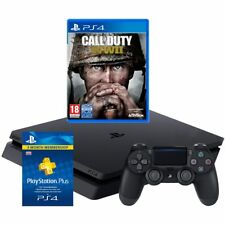 Sony PlayStation P4HEHWCST54036 PS4 with COD WWII and 90 Day PS Plus Card 500GB