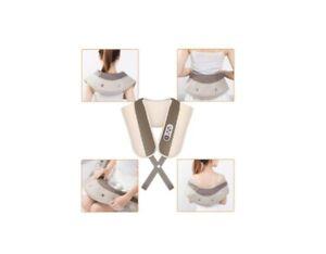 Massaggiatore Elettrico Cervicale Massaggio Collo Spalla Schiena Glutei Cosce