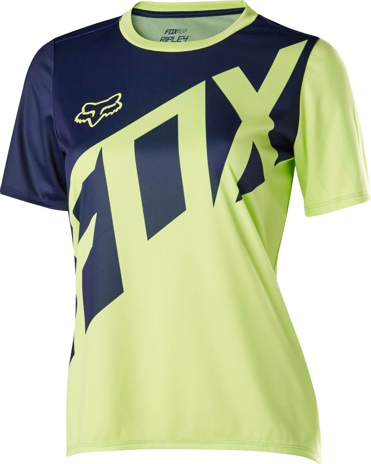 Fox Racing Womens Ripley s s Jersey Light Yellow