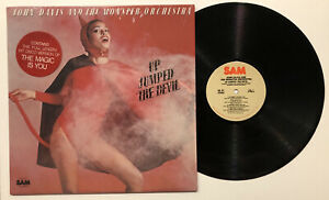 JOHN DAVIS AND THE MONSTER ORCHESTRA UP JUMPED THE DEVIL 1977 LP