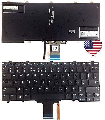 OEM FOR Dell Latitude E5250 E7250 Laptop Keyboard MP-13P13US6442 VW71F BACKLIT