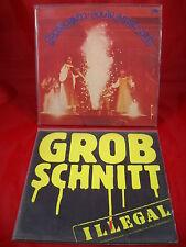 2 x Grobschnitt - im Vinyl Schallplatten Paket -  LP - Solar Music / Illegal