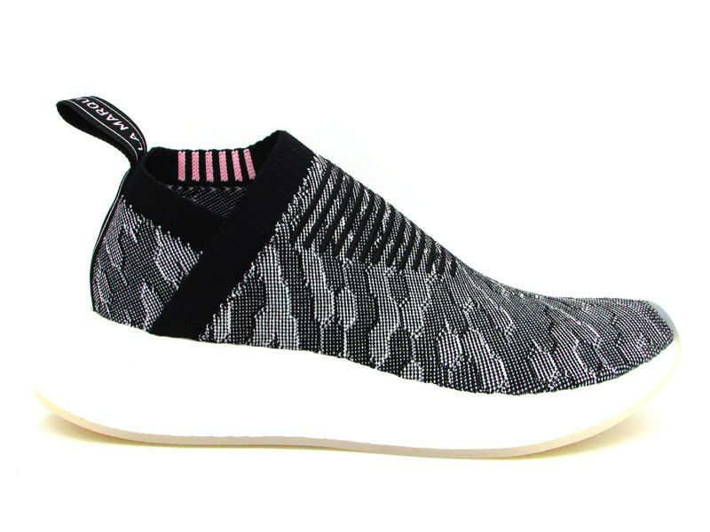 ADIDAS SNEAKERS NMD_R2 PK W SNEAKERS ADIDAS NERO GRIGIO BIANCO BY9312 eeced8