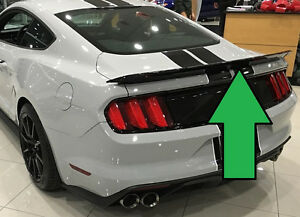 For Ford Mustang Track Package Style Primered Rear Spoiler Fits