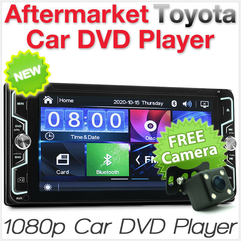 """7"""" Car DVD Player Stereo Radio USB For Toyota Hilux Land Cruiser Corolla Camry"""