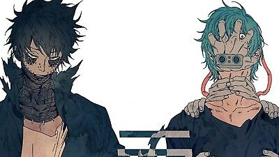 Poster 42x24cm Boku No Hero Academia Dabi Tomura Shigaraki League Of Villains 01