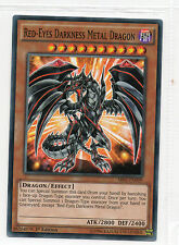 YUGIOH, RED-EYES DARKNESS METAL DRAGON SR02-EN009 1st