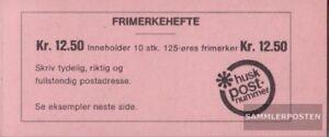 Norwegen-697MH-kompl-Ausg-mit-10x-Nummer-697-postfrisch-1975-Freimarke