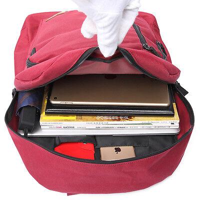 Boys Girls Fabric Polyester Shoulder Tote Backpack Large School Bag Handbag