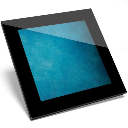 1 X Bonito Color Azul Aqua Verde Azulado Posavasos Vidrio Cool-estudiante de cocina regalo #2020