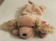 Ty Beanie Baby Spunky The Cocker Spaniel 1997 5th Generation Hang Tag