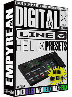 Line 6 Helix Presets Guitar Effects Patches Artist Tones