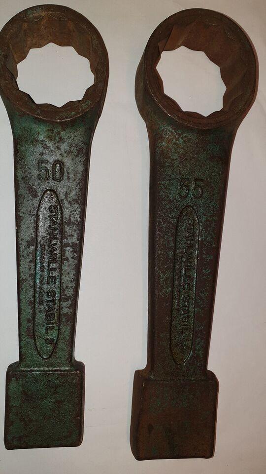 Tilbehør til håndværktøj, Slag nøgler