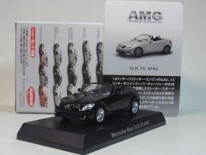 AMG-MiniCar-Collection-kyosho-1-64-Mercedes-Benz-SLK-55-AMG-model-car-black