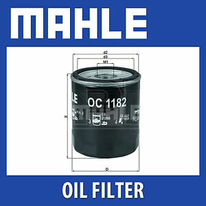 Mahle-Filtro-De-Aceite-OC1182-OC-1182-Genuine-Part-se-adapta-a-Mazda