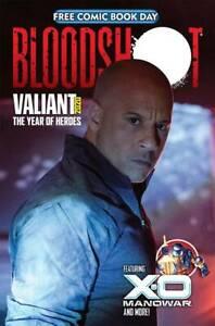 FCBD Bloodshot/X-O Manowar Valiant 2020 unstampeded - 1st Print Vin Diesel Cover