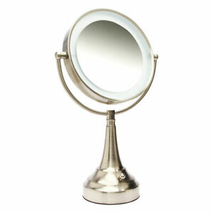Zadro Led Lighted Vanity Mirror 1x To 10x Model No