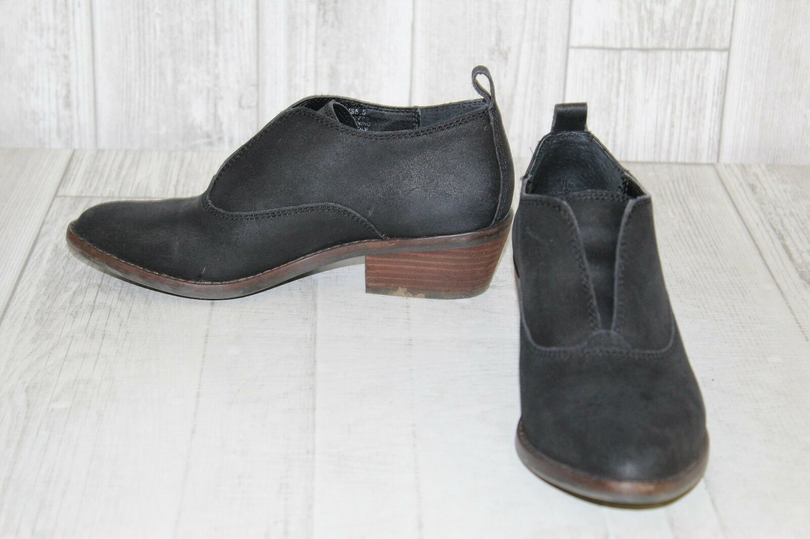 fdf843e29e4 Lucky Brand Fimberly Booties - Women s Size 5.5 M M M Black 29ee5a ...